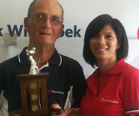 Eighty year old van der Westhuizen crowned top senior golfer