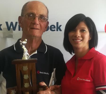 Eighty year old van der Westhuizen crowned top senior golfer