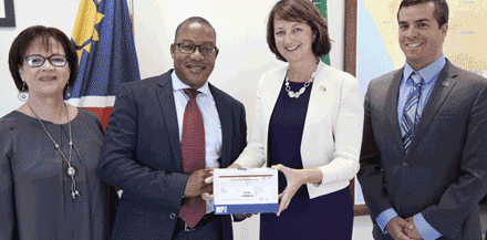 Health Ministry gets 600 hepatitis E rapid test kits from U.S. Embassy