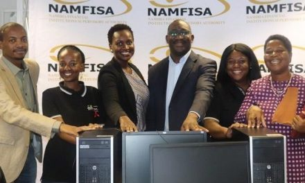 Recycle and re-use – retrenched Namfisa computers support administrative capacity of UNAM's Oshakati campus
