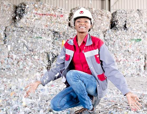 Cement maker burns tonnes of non-recyclable waste as alternative fuel to fire kiln