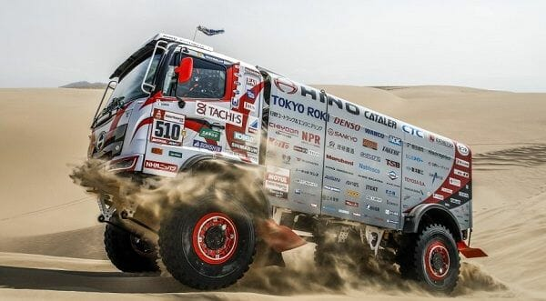Hino sets new Dakar record – 27 years always with at least one truck finishing the race