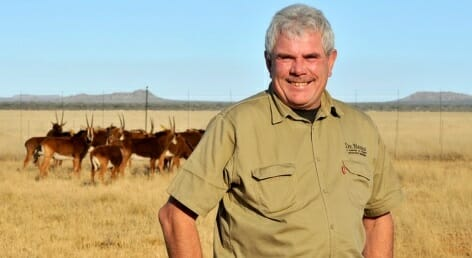 Tsumeb native husbands De Beers Group's extensive game ranching and conservation interests