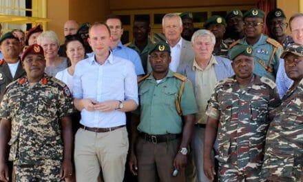 Defense Forces' projects get assistance from visiting German Bundestag delegation