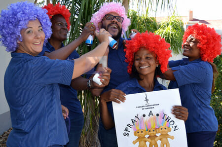 Get colourful and support children fighting cancer – National Spray-A-Thon to kick off in March