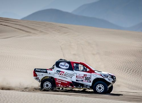 Toyota Gazoo Racing SA aiming to win Dakar 2019