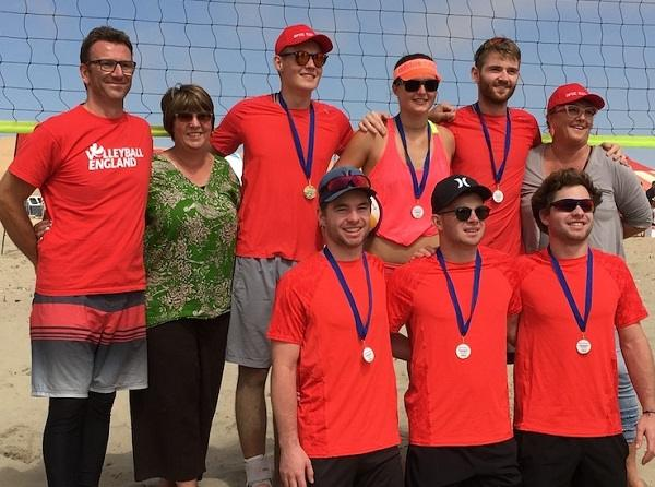 Team Optic Exclusive grand champs in Beach Bash volleyball tournament