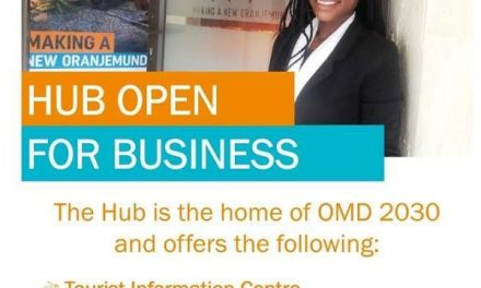 New Hub Market opens soon in Oranjemund for Munders to trade their wares and tares