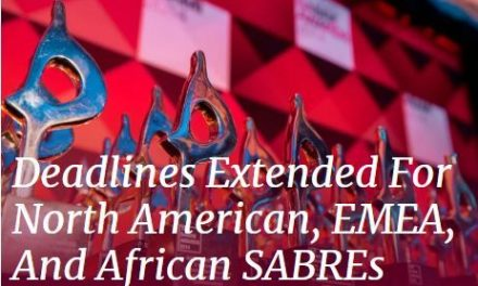 SABRE awards prove and improve the value of PR – deadline extended