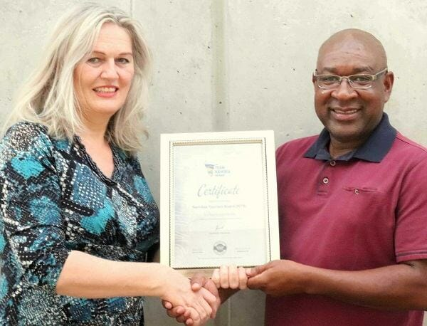 Tourism board and Team Namibia join hands to promote domestic tourism