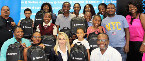 Students bag school stationery in Sanlam competition