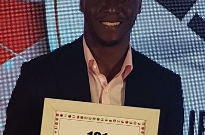 Not all heroes wear capes – MTC's Ekandjo bags global accolade
