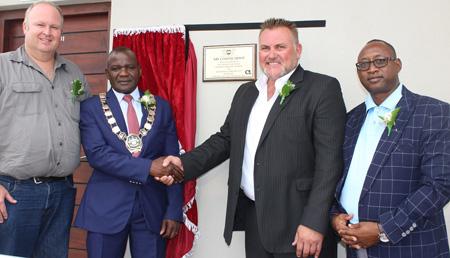 Breweries opens new N$27 million coastal depot