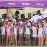 Dophins fun gala for very young swimmers promotes early sport development