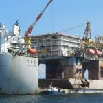Caribbean oil rig arrives in two weeks in Walvis Bay for major repairs and overhaul