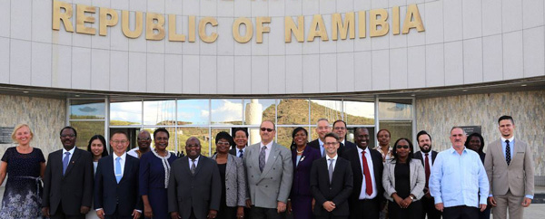 Geingob welcomes new Ambassadors and Heads of Missions
