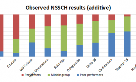 Drivers of performance in Namibian secondary education