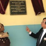 Platoon system comes to an end at Groot Aub Primary with four new classrooms from Japan's government