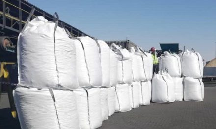 Walvis Bay harbour handles first consignment of petroleum coke en route to Zambia