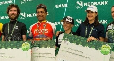 Craven makes an easy finish of Nedbank Cycle Challenge – Adrian upsets the women's podium