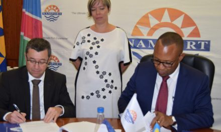 Namport inks agreement with French channel port to promote business relations