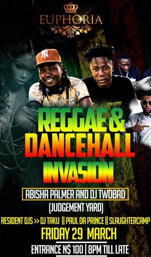 Reggae, Dancehall Invasion set to blaze up Windhoek – Judgement Yard Djs to headline show