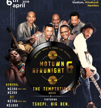The Temptation's billed for Windhoek