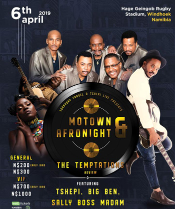 Temptations show indefinitely postponed – Promoters, artists fall out