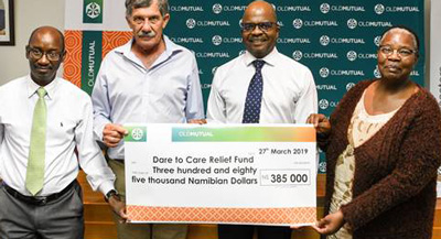 Farmers get drought relief from Old Mutual