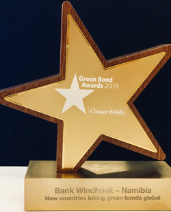 Locally owned commercial bank gets international nod for its Green Bond Issuance