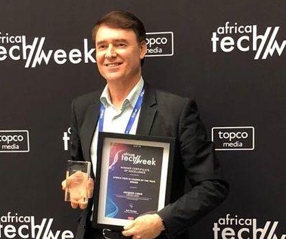AI developer grabs top accolade at Africa Tech Week