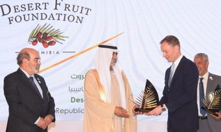 Namibian dates on par with best from North Africa – Desert Fruit receives international award