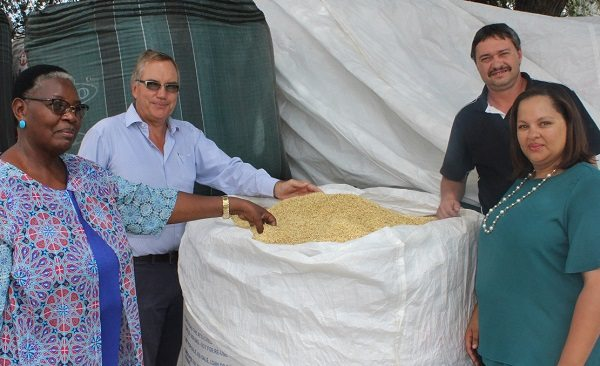 Breweries sends lots of local barley as relief for drought-stricken farmers