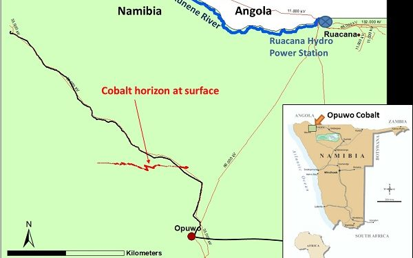 Low cobalt prices compromise the evaluation of the Opuwo Project by Australian firm