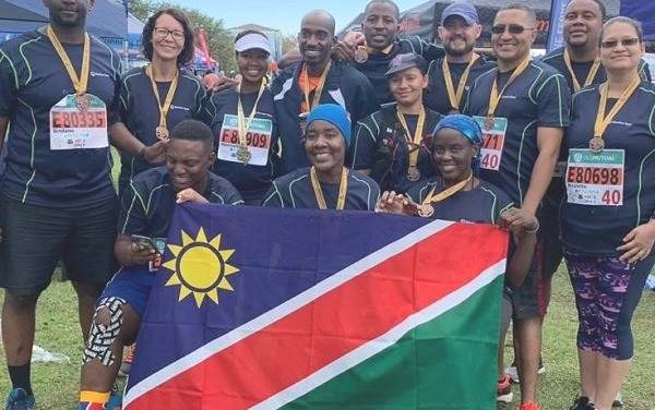 Amateur runners make a splash at the Two Oceans in Cape Town, helped by their employer