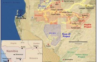 Drilling at Tumas continues to show strong potential