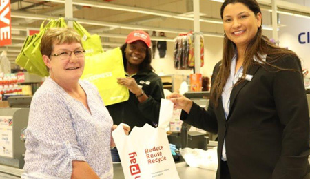Local retailer to charge for plastic carrier bag at various stores