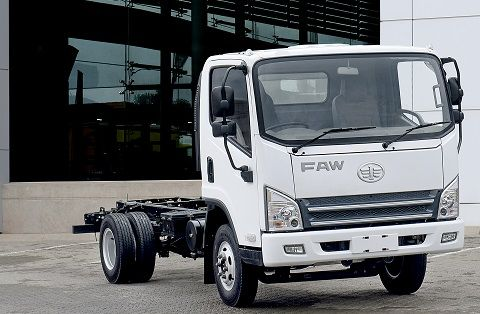 FAW enters mid-range market with new truck assembled in South Africa