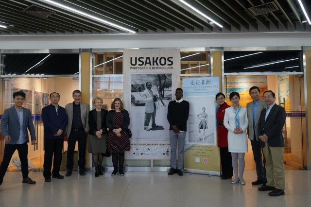 First African exhibition to China, the Usakos Exhibition attracts a lot of interest