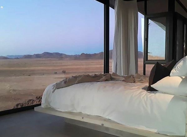 If absolute solitude in the desert is your cup of tea, then take a look at the Desert Whisper