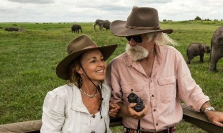 World-famous Botswana filmmakers collect another prestigious ribbon for their selfless humanitarian and conservation work