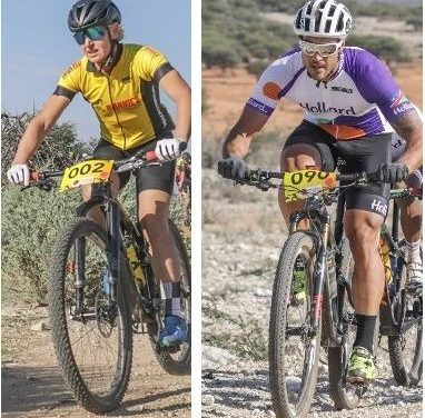 Mans and Steyn unbeatable at Otjiwa MTB race but had to work hard to stay ahead