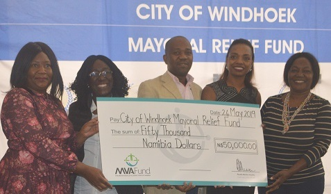 MVA Fund cares also for soft disabilities, supports the City of Windhoek with sign language dictionaries