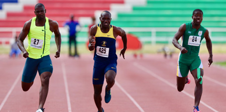 Athletes gun for top 10 honours this weekend