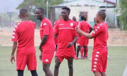 Local-based players commence COSAFA cup training