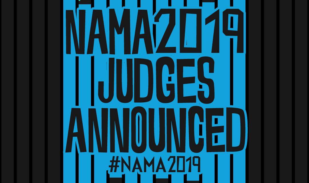 NAMA judges announced