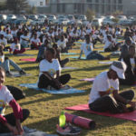 Yoga enthusiasts mark 5th UN International Day of Yoga