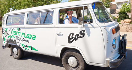Experience Windhoek through a fresh new culture vibe in an old-school combi