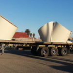 Namport receives large consignment of project cargo destined for Botswana