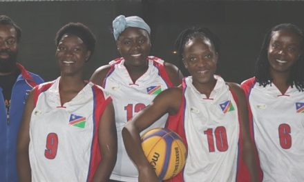Women's basketball team makes history in their quest to play at African Beach Games in Cape Verde